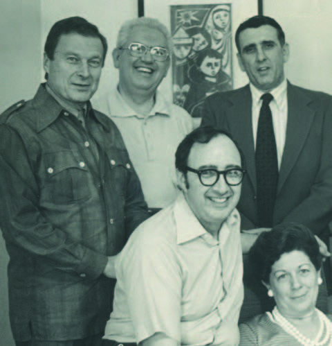 Wistar researchers in the 1970s